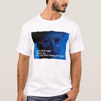 """James Joyce """"Let The Dead"""".T Shirt"""