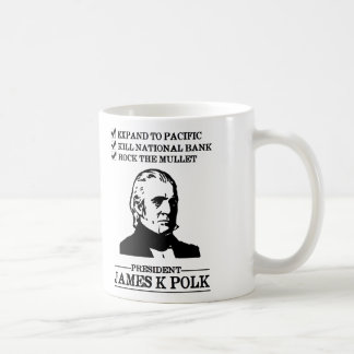 James K Polk Mugs