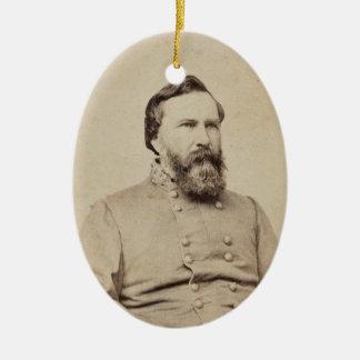 James Longstreet Ceramic Ornament