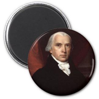 James Madison Fridge Magnet