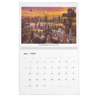 James McCarthy-Surrealism and the Landscape 2016 Calendar