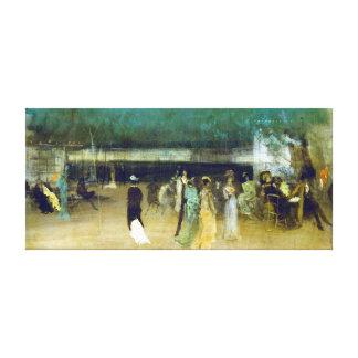 James McNeill Whistler Cremorne Gardens Canvas Print