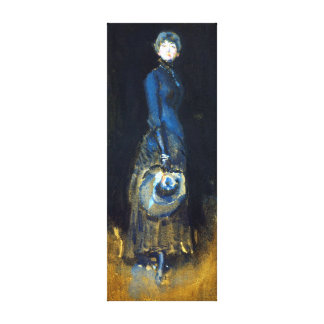 James McNeill Whistler Lady in Gray Canvas Print