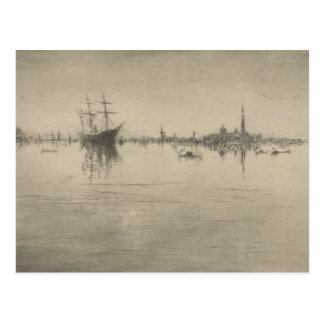 James McNeill Whistler - Nocturne Postcard