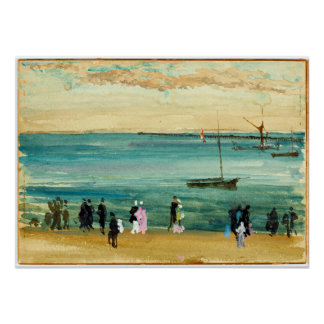 James McNeill Whistler Southend Pier Poster