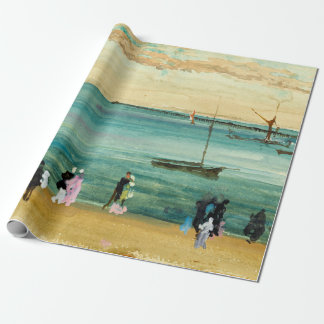 James McNeill Whistler Southend Pier Wrapping Paper