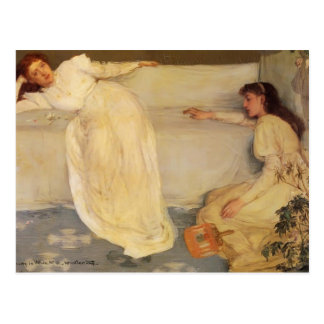 James McNeill Whistler- Symphony in White, No. 3 Postcard