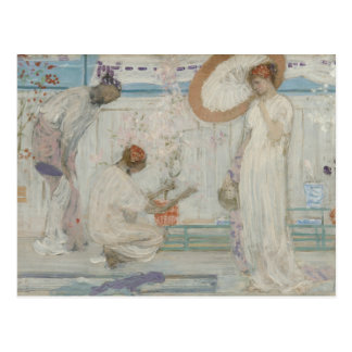 James McNeill Whistler - The White Symphony Postcard