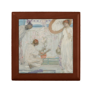James McNeill Whistler - The White Symphony Small Square Gift Box
