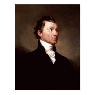 James Monroe Portrait by Samuel Morse Postcard