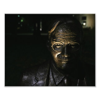 James Naismith Bronze Statue Photo Print