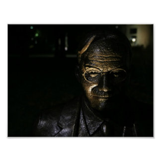 James Naismith Bronze Statue Poster