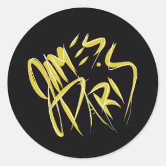 James Paris Sticker