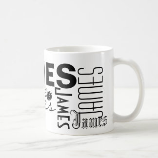 JAMES - Personalise The Mug