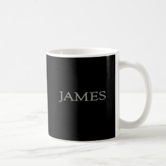 James Personalized Name Mugs