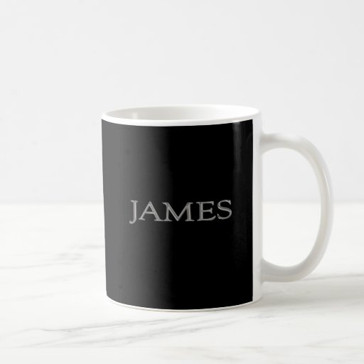 James Personalized Name Mugs