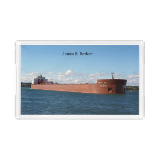 James R. Barker acrylic tray