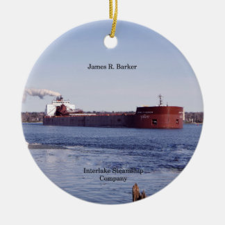 James R. Barker ornament