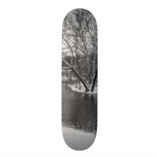 James River Cuts Back Grayscale 20.6 Cm Skateboard Deck
