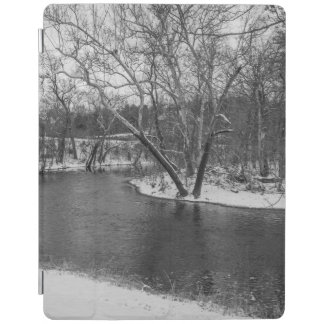 James River Cuts Back Grayscale iPad Cover