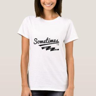 James - Sometimes Lyrics Retro Inspired T-Shirt