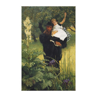 James Tissot Daughter Vintage Father's Day Stretched Canvas Prints