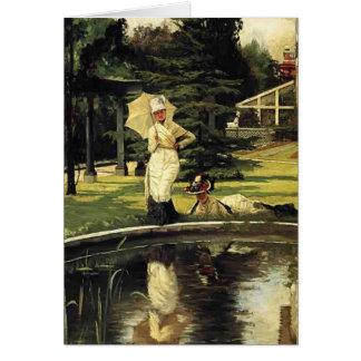 James Tissot- In an English Garden Card