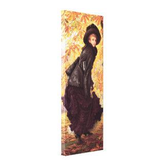 James Tissot October Canvas Print