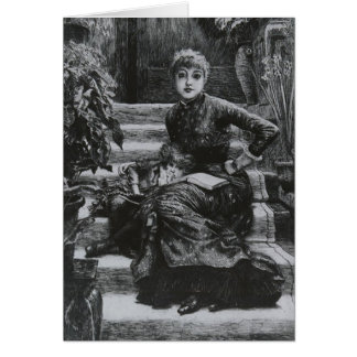 James Tissot: Older Sister Card