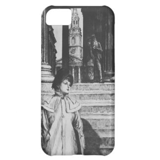 James Tissot: Portico of National Gallery London iPhone 5C Cases