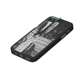 James Tissot: Portico of National Gallery London iPhone 5/5S Covers