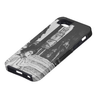 James Tissot: Portico of National Gallery London iPhone 5 Covers