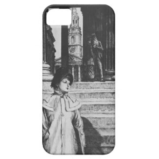 James Tissot: Portico of National Gallery London iPhone 5 Cases