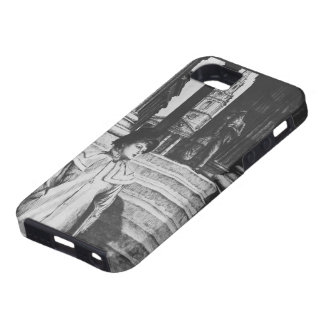 James Tissot: Portico of National Gallery London iPhone 5 Case