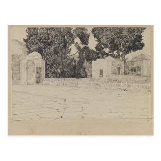 James Tissot: Rear of the Mosque of Omar Postcard