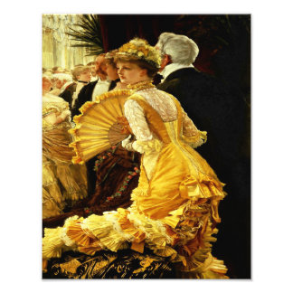 "James Tissot ""The 1800's Ball"" Dancing Photographic Print"