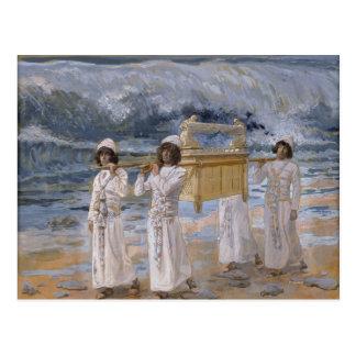 James Tissot - The Ark Passes Over the Jordan Postcard