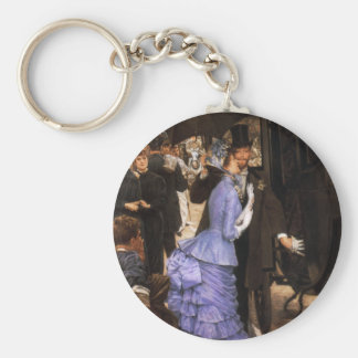 James Tissot The Bridesmaid Key Chain