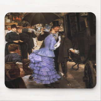 James Tissot The Bridesmaid Mouse Pad