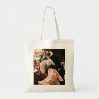 James Tissot The Political Lady Tote Bags