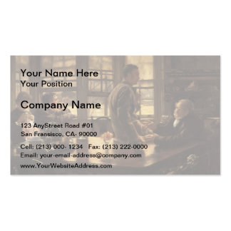 James Tissot- The Prodigal Son in Modern Life Double-Sided Standard Business Cards (Pack Of 100)