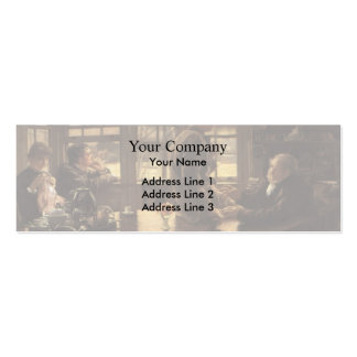James Tissot- The Prodigal Son in Modern Life Business Card