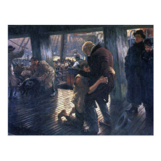 James Tissot - The Prodigal Son in Modern Life - T Postcard