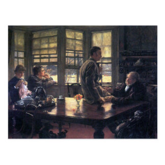 James Tissot - The Prodigal Son in Modern Life- Th Postcard