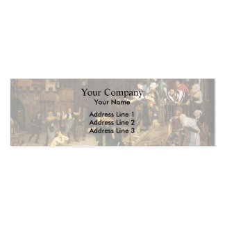 James Tissot- The Return of the Prodigal Son Business Card Templates