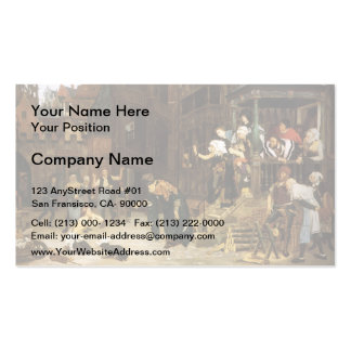 James Tissot- The Return of the Prodigal Son Pack Of Standard Business Cards