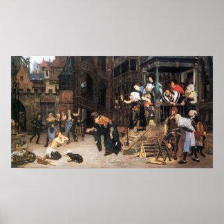 James Tissot - The return of the prodigal son Poster
