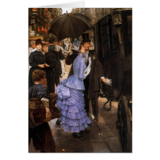 James Tissot- The Traveller Card
