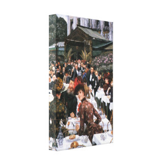 James Tissot - The women of the artist Canvas Prints