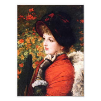 James Tissot Type of Beauty Print